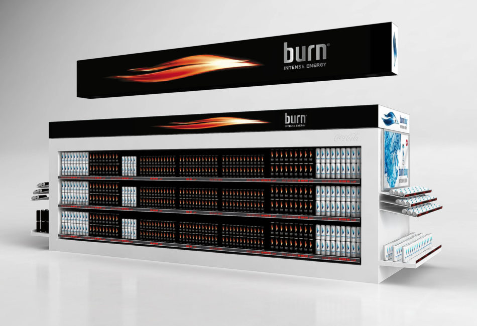 lineaire burn recoupe